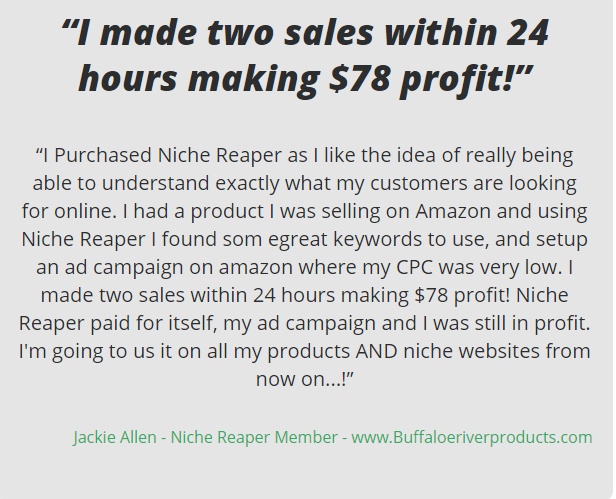 Niche Reaper v3.0 Review with Offers and Bonus